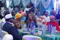 Discussing the way forward with Merck more than a Mother in Nigeria, H.E. Wife of the vice President