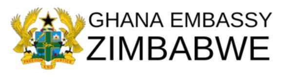 Ghana Embassy Zimbabwe