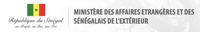 Ministère des Affaires Etrangères et des Sénégalais de l'Extérieur