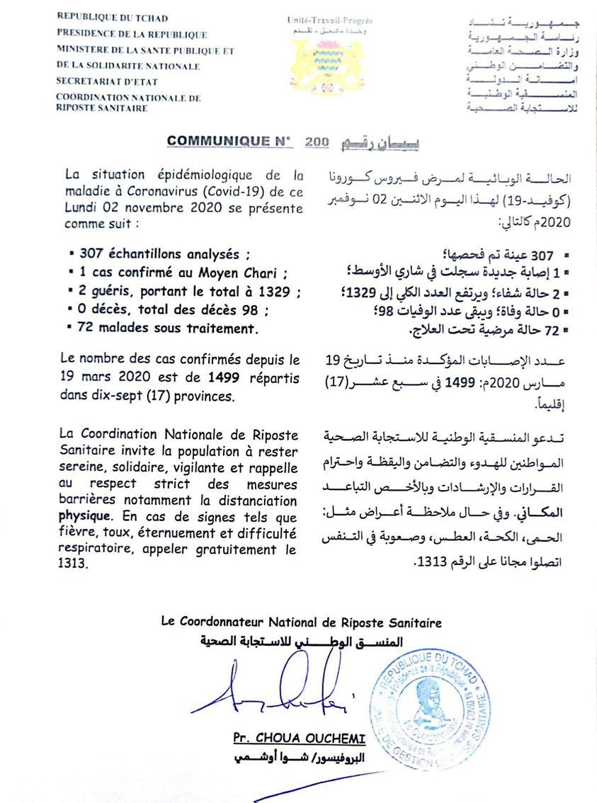 Ministère de la Santé Publique du Tchad