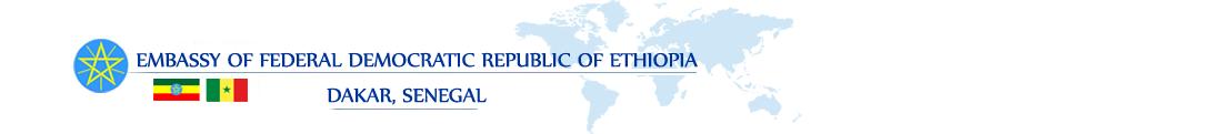 Embassy of Federal Democratic Republic of Ethiopia, Dakar, Senegal