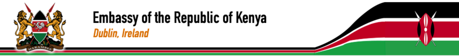 Embassy of Republic of Kenya in Dublin, Ireland