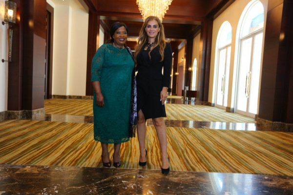 Zimbabwe First Lady congratulates Senator, Dr. Rasha Kelej for her nomination as The African Woman of the Year 2020