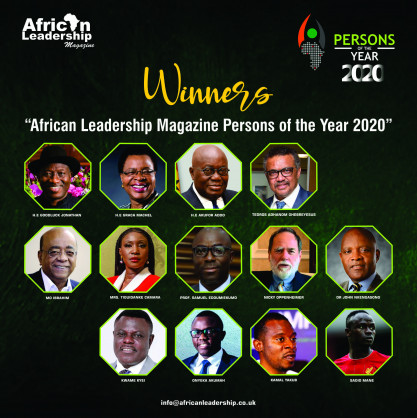 WHO DG, Tedros Ghebreyesus, Ghana's President, Akufo-Addo, Mo Ibrahim, Graca Machel, Others, Emerge Winners in the African Leadership Magazine (ALM) Persons of the Year 2020 Awards