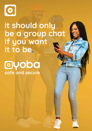 African messaging app ayoba assures users of full privacy and security protection, safe for younger users