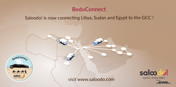 Hello!  Launches with BeduConnect a road freight transport service between the Middle East and Africa