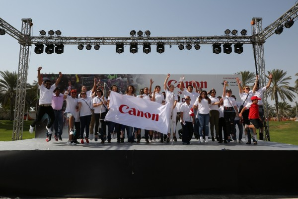 Canon Day of Giving raises funds to support two educational programmes in partnership with Dubai Cares