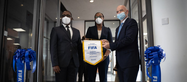 FIFA Regional Development Office in Kigali inaugurated