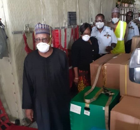 Coronavirus - Nigeria: Federal Government (FG) receives donated consignment from Jack Ma Foundation China