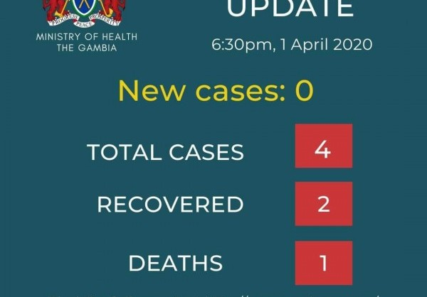 Apo Group Africa Newsroom Press Release Coronavirus Gambia Covid 19 Case Update 1 April 2020