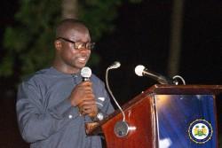 Press Secretary Yusuf keketoma Sandi at the inaugural media cocktail.jpeg