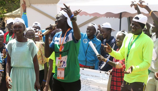 Young South Sudanese use their creative skills to support the peace process (By Moses Pasi)
