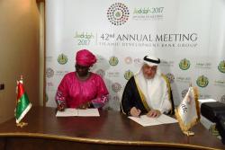 Burkina Faso & ITFC Agreement - IsDBAM42.png