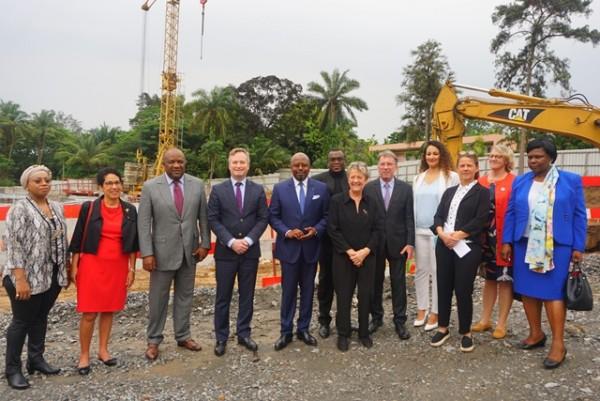 La France au Gabon et à São Tomé et Principe