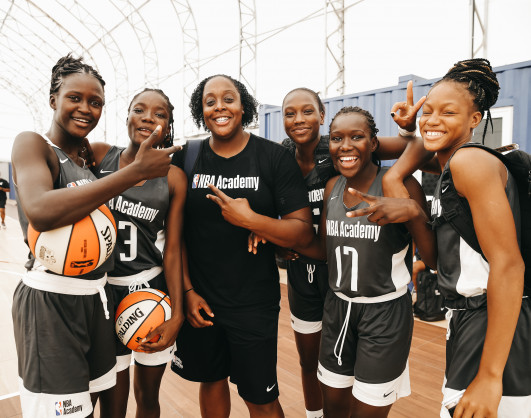 Two NBA Academy Women's Program Participants receive Scholarships to attend SEED Academy