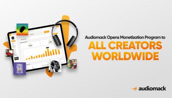 Audiomack Activates (AMP Global) Audiomack Monetization Program Across the Globe