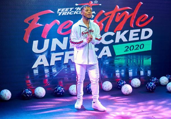 Mohannad Ali, Fatima Akif couronnée reine et roi du football freestyle africain lors du Freestyle UNLOCKED Africa 2020