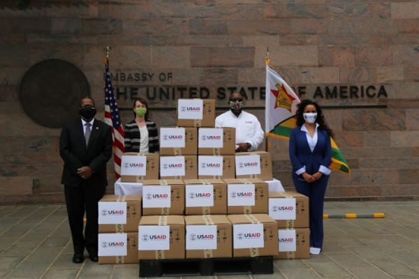 Coronavirus: The United States provides 20 ventilators to Zimbabwe to respond to COVID-19