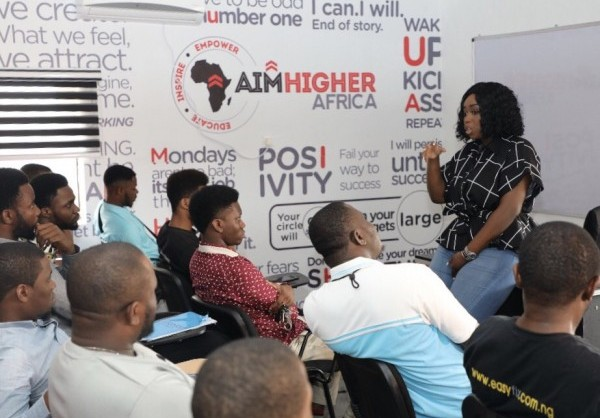 Peace Hyde Opens Aim Higher Africa (AHA) Skills Acquisition Centre in Lagos