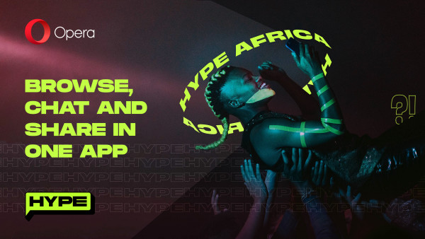 Opera launches Hype; its new dedicated chat service built into the popular Opera Mini browser available now in Kenya