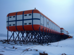 The SANAE IV research station in Antarctica.png
