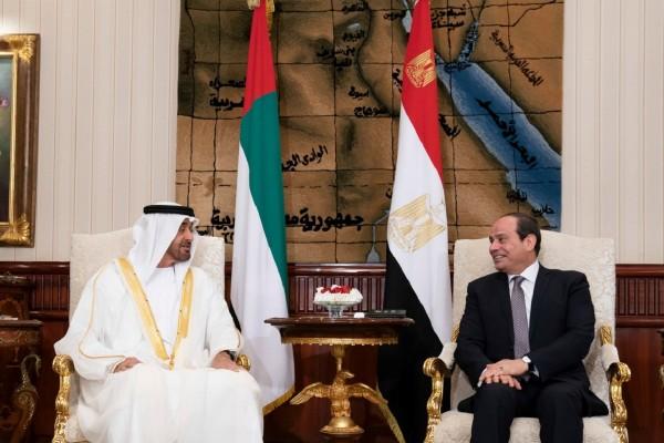 His Highness Sheikh Mohamed bin Zayed, Egyptian President review regional developments
