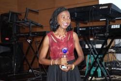 Nike Popoola (Nigeria) winner of the 2016 Pan-African ReInsurance Journalist award.JPG