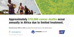 Novartis, ASCP and ACS join forces to fight cancer in Ethiopia, Uganda and Tanzania