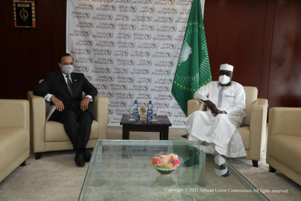 African Union Commission Chairperson Receives Message from Deputy Prime Minister and Minister of Foreign Affairs