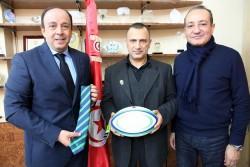 Le président Aref belkhiria et le vice président Khaled Babbou.jpg