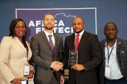 At the AFTS Washington, Dele Adeyinka,  Chief Digital Officer of ALAT by Whema, accepted the award f