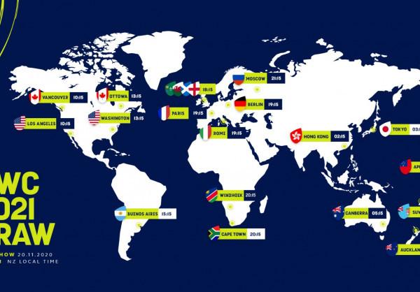 Le tirage au sort de la Coupe du Monde de Rugby 2021 aura bien lieu le 20 novembre