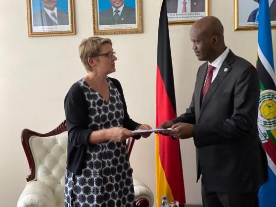 New German Ambassador presents Credentials to East African Community (EAC) Secretary General