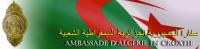 L'Ambassade d'Algérie en Croatie