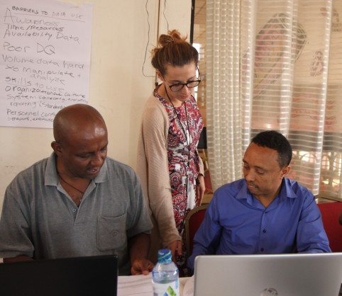 U.S. Centers for Disease Control and Prevention (CDC) Prepares Monitoring and Evaluation Officers to Achieve Epidemic control in Ethiopia