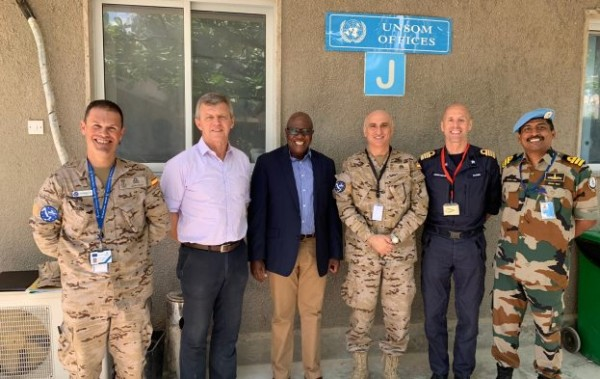 EU NAVFOR Commander meets Key Leaders in Mogadishu